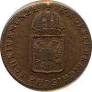 ¼ Kreuzer - Franz II – obverse