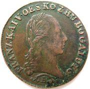½ Kreutzer - Franz II -  obverse