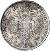 ½ Thaler - Maria Theresia (Hall) -  reverse