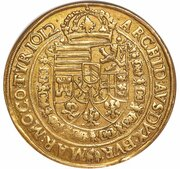 10 Ducat - Matthias II (Vienna) – reverse