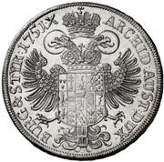 ½ Thaler - Maria Theresia (Graz) -  reverse