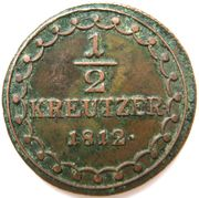 ½ Kreutzer - Franz II -  reverse