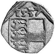 1 Pfennig - Ferdinand I (Klagenfurt) -  obverse