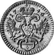 ¼ Kreuzer - Franz I (Vienna) -  obverse