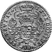 6 Kreuzer - Franz I -  reverse