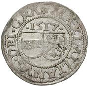 ½ Batzen - Maximilian I (St Veit) -  obverse