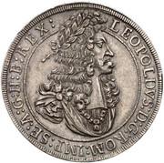 1 Thaler - Leopold I (Hall) -  obverse