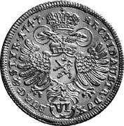 6 Kreuzer - Maria Theresia (Graz) -  reverse