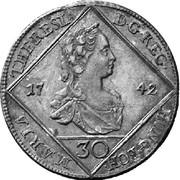 30 Kreuzer - Maria Theresia (Vienna) -  obverse
