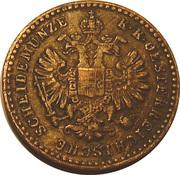 5/10 Kreuzer - Franz Joseph I -  obverse