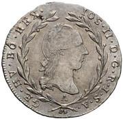 5 Kreuzer - Joseph II -  obverse