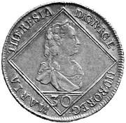 30 Kreuzer - Maria Theresia (Hall) -  obverse