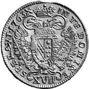 17 Kreuzer - Franz I -  reverse