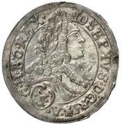 3 Kreuzer - Joseph I (St Veit) -  obverse