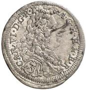 3 Kreuzer - Karl VI (München) -  obverse