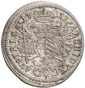 3 Kreuzer - Karl VI (München) -  reverse