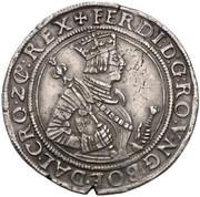 ½ Thaler - Ferdinand I (Hall) -  obverse