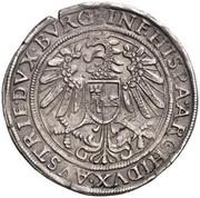 ½ Thaler - Ferdinand I (Hall) -  reverse