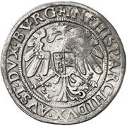¼ Thaler - Ferdinand I (Hall) -  reverse