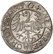 3 Kreuzer - Ferdinand I (Linz) -  reverse