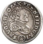 3 Kreuzer - Ferdinand II (St Pölten) -  obverse