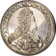 2 Thaler - Karl VI (Hall) -  obverse