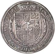 1 Thaler - Rudolf II (Hall) -  reverse