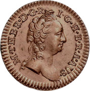 1 Pfening - Maria Theresia (Vienna) -  obverse