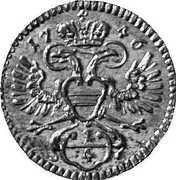 ¼ Kreuzer - Maria Theresia (Vienna) -  obverse