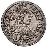 1 Kreuzer - Joseph I (Graz) -  obverse
