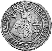 30 Kreuzer ½ Guldenthaler - Ferdinand I (Hall) -  obverse