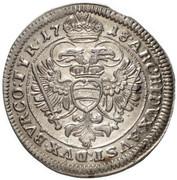 3 Kreuzer - Karl VI (Vienna) -  reverse