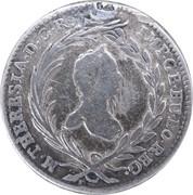 10 Kreuzer - Maria Theresia (Hall) -  obverse