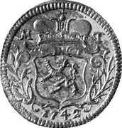 ½ Kreuzer - Maria Theresia (Graz) -  obverse