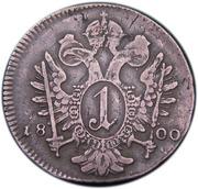 1 Kreuzer - Franz II -  reverse