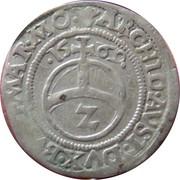 2 Kreuzer - Maximilian II (Vienna) -  reverse