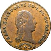 1 Kreutzer - Franz I -  obverse