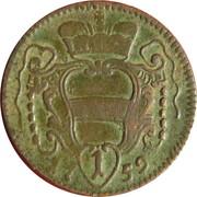 1 Pfennig - Maria Theresia -  reverse