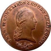 6 Kreutzer - Franz II -  obverse