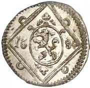 1 Pfennig - Leopold I (Graz) -  obverse