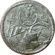 2 Pfennig - Leopold I (Vienna) -  obverse