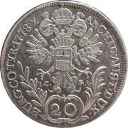 20 Kreuzer - Maria Theresia (Vienna) -  reverse