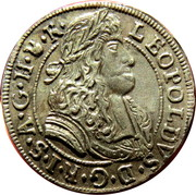 3 Kreuzer - Leopold I (Hall) -  obverse