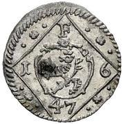 1 Pfennig - Ferdinand III (Graz) -  obverse