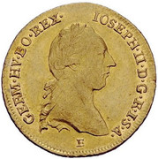 2 Ducat - Joseph II – obverse