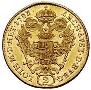 2 Ducat - Joseph II – reverse