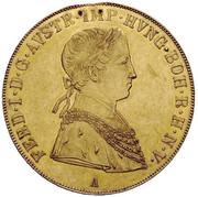 4 Ducat - Ferdinand I – obverse