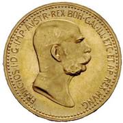 10 Corona - Franz Joseph I (Reign) -  obverse