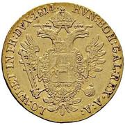 1 Ducat - Franz II -  reverse