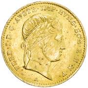 1 Ducat - Ferdinand I -  obverse
